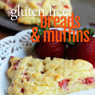Gluten Free Bread Recipes Using a Homemade Gluten Free Baking Mix