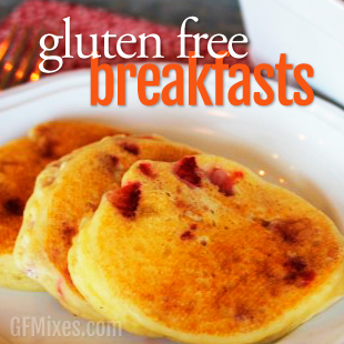 Gluten Free Breakfast Recipes Using a Homemade Gluten Free Baking Mix