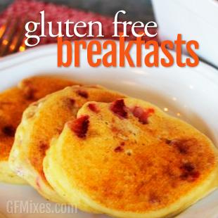 Gluten Free Breakfast Recipes Using a Homemade Gluten Free Baking Mix