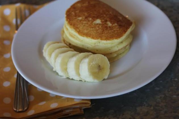Gluten Free Banana Pancakes 2