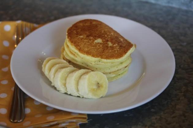 Gluten Free Banana Pancakes_