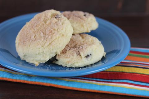 Gluten Free Cinnamon Raisin Biscuit-