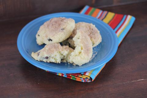 Gluten Free Cinnamon Raisin Biscuit_