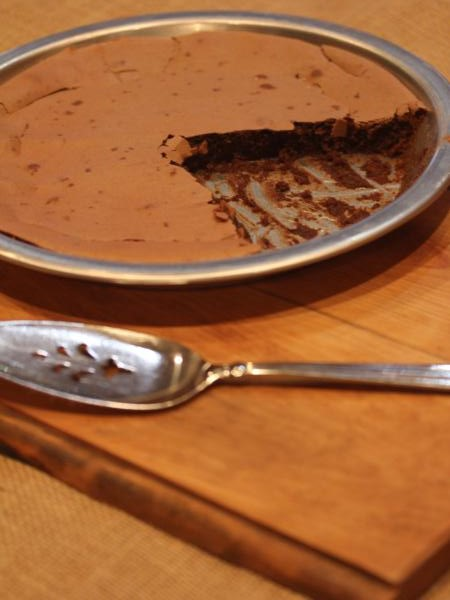 impossible brownie pie _